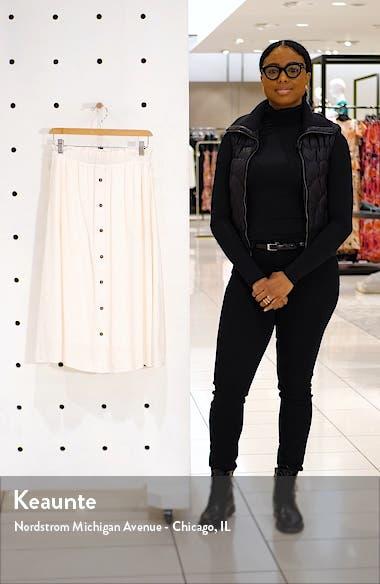 x The Motherchic Siesta Button-Down Midi Skirt, sales video thumbnail