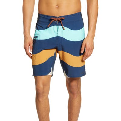 Patagonia Stretch Planing Swim Trunks, Blue