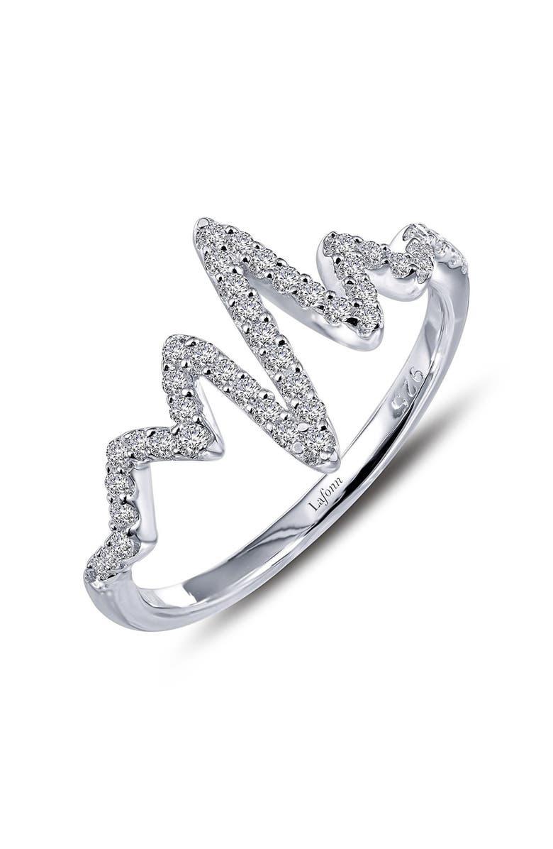 LAFONN 'Lassaire' Pulse Ring, Main, color, SILVER