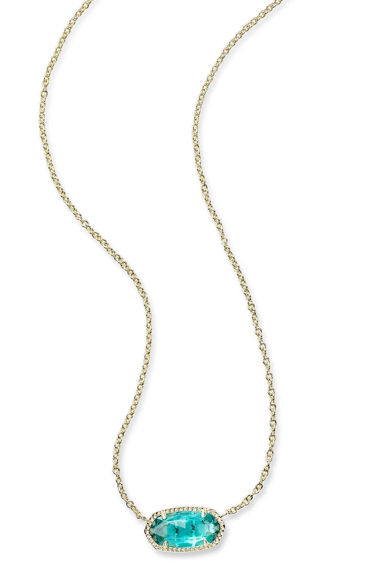 ,                             Elisa Pendant Necklace,                             Alternate thumbnail 46, color,                             401