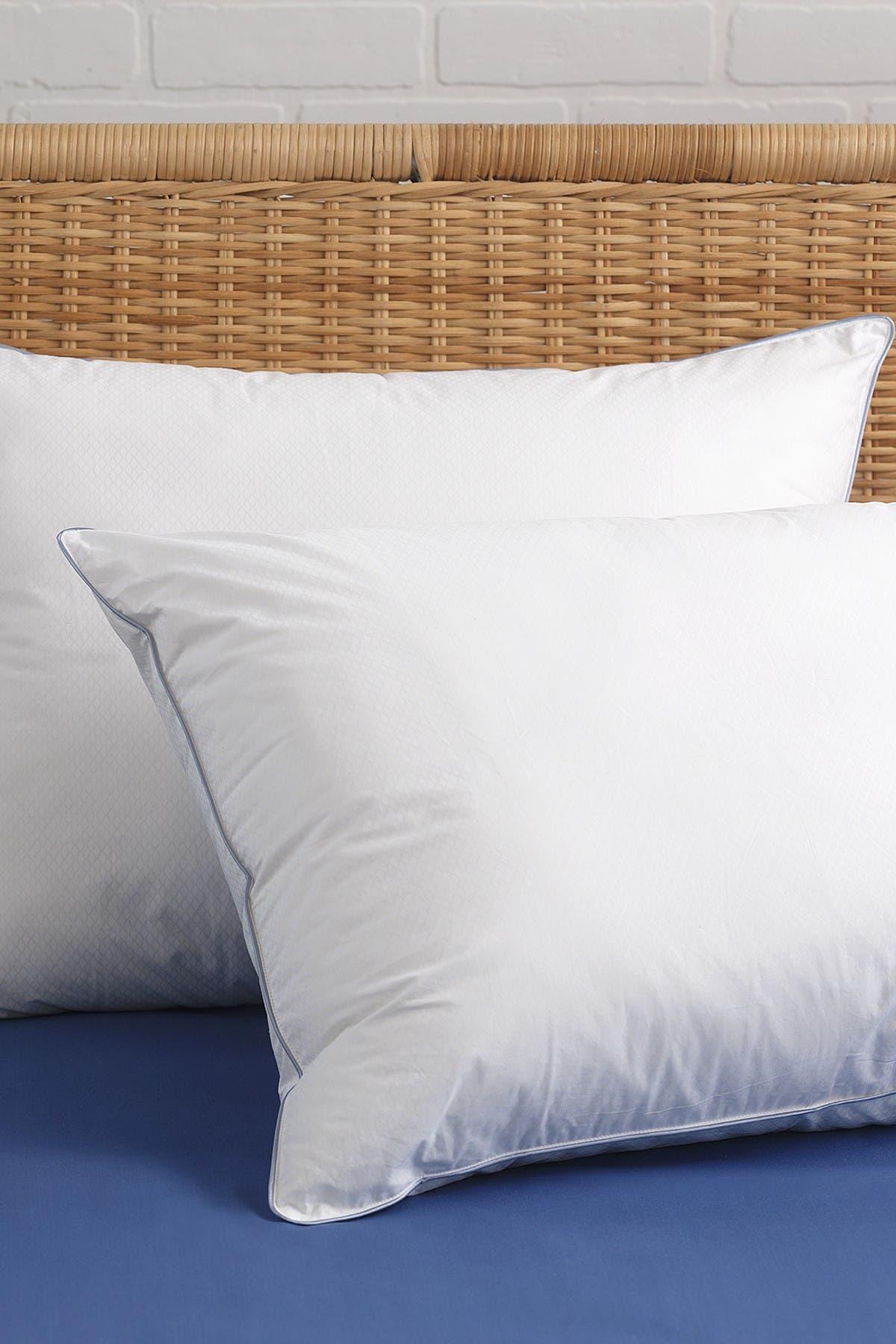 Image of CLIMAREST Tempa Sleep Standard Cotton Cooling Down Alternative Pillow