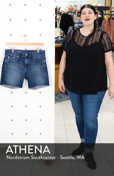 Becke Cutoff Denim Shorts, sales video thumbnail