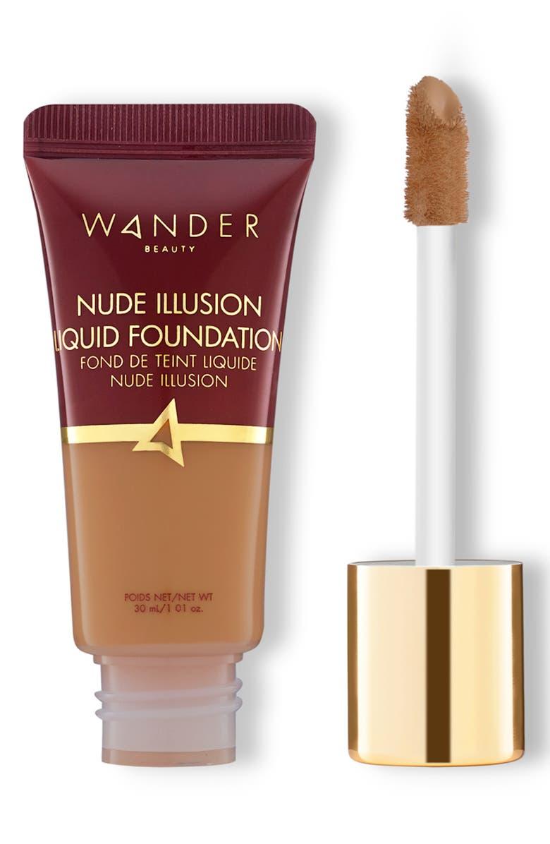 WANDER BEAUTY Nude Illusion Liquid Foundation, Main, color, RICH