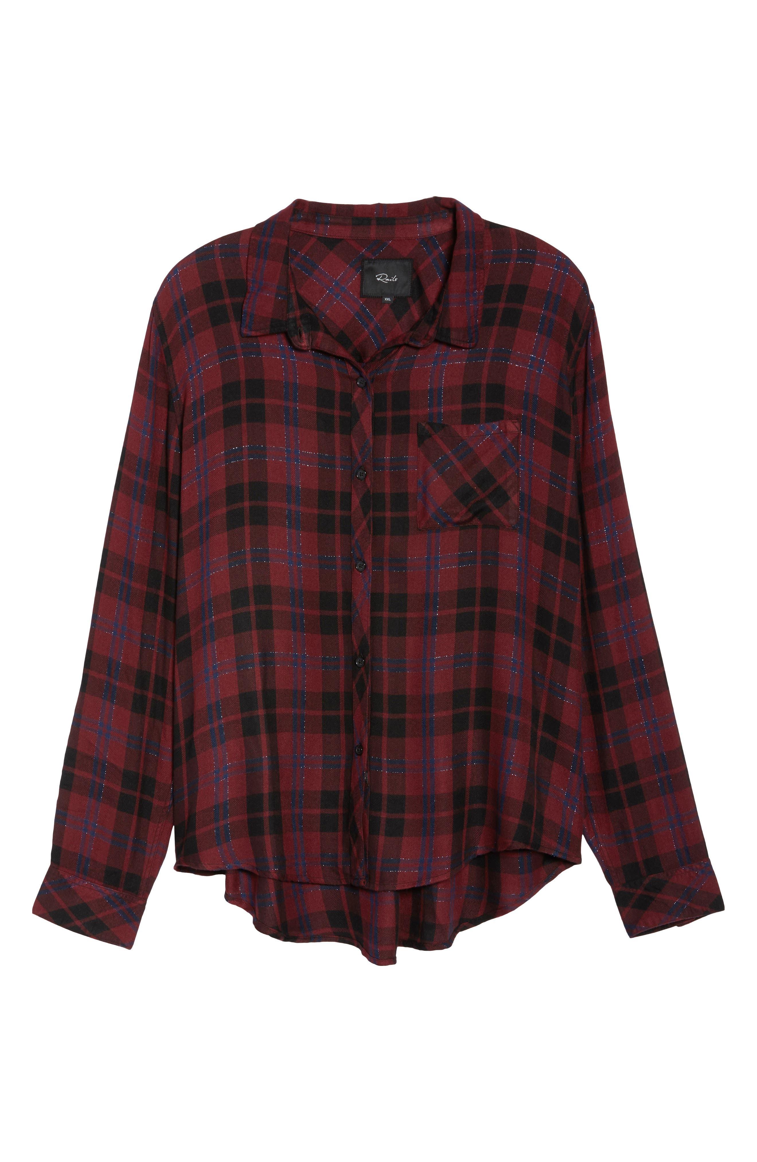 ,                             Hunter Plaid Shirt,                             Alternate thumbnail 443, color,                             932