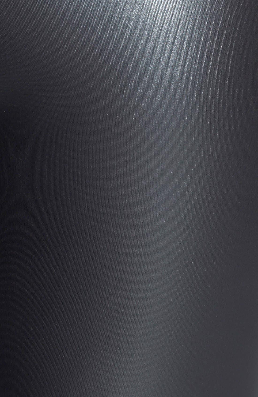,                             Faux Leather Leggings,                             Alternate thumbnail 3, color,                             001