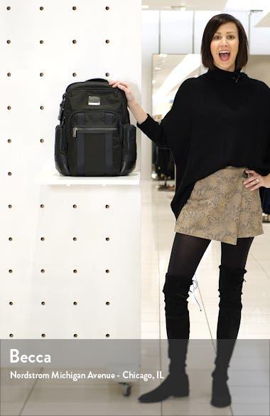 Alpha Bravo Nathan Black Expandable Backpack, sales video thumbnail