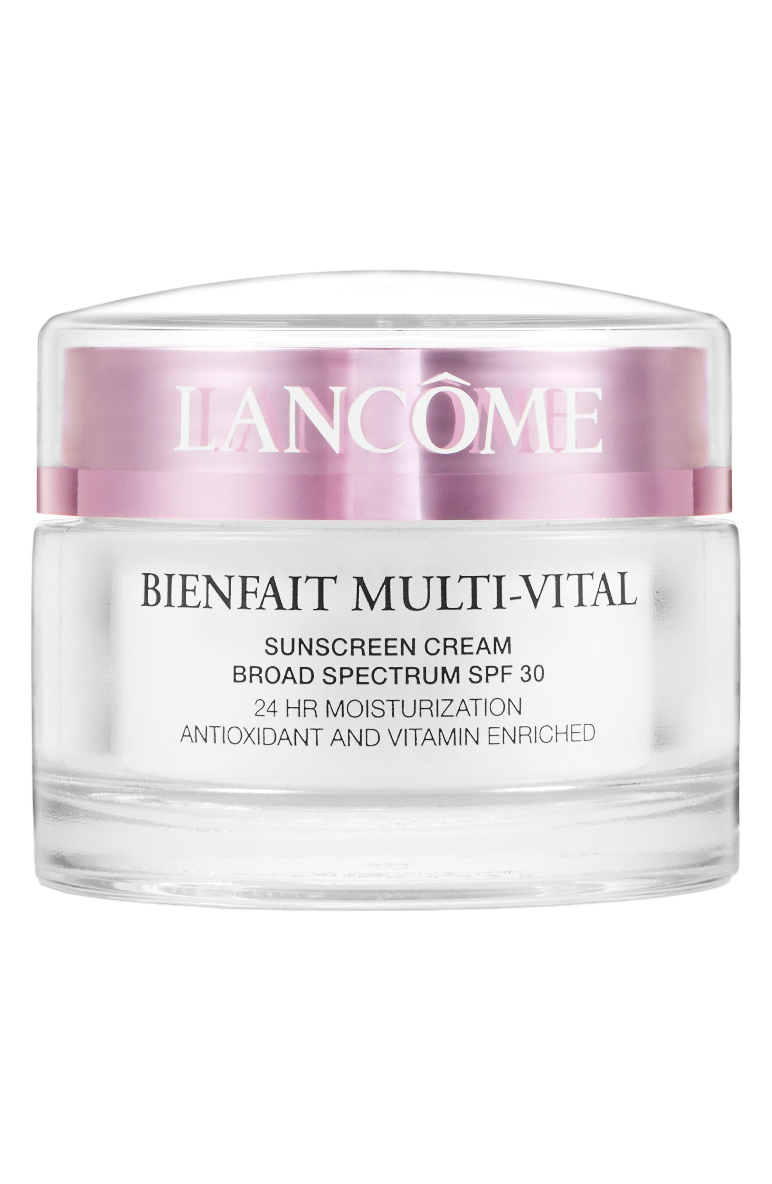 Lancome Bienfait Multi-Vital Spf 30 Day Cream Moisturizer
