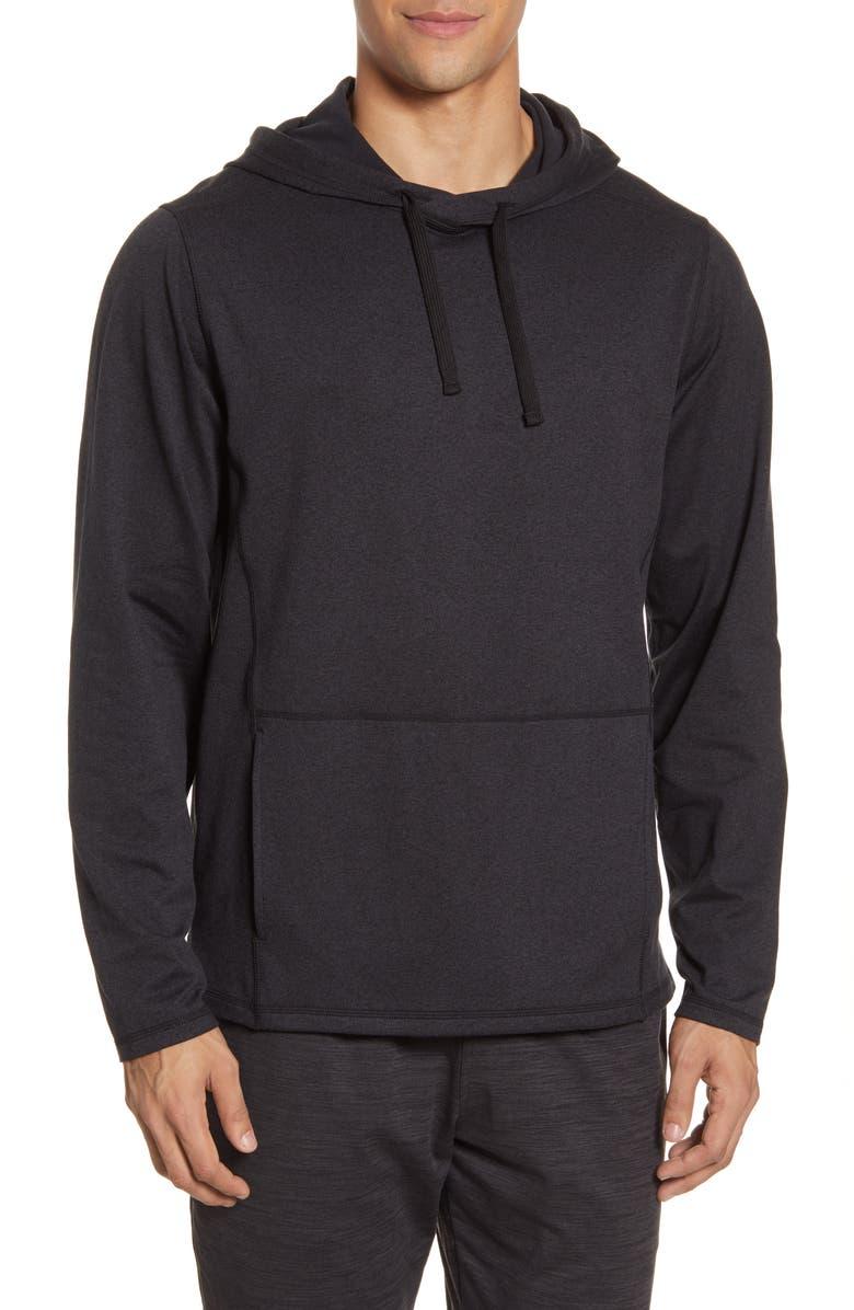 ZELLA Zellness Pullover Hoodie, Main, color, 001