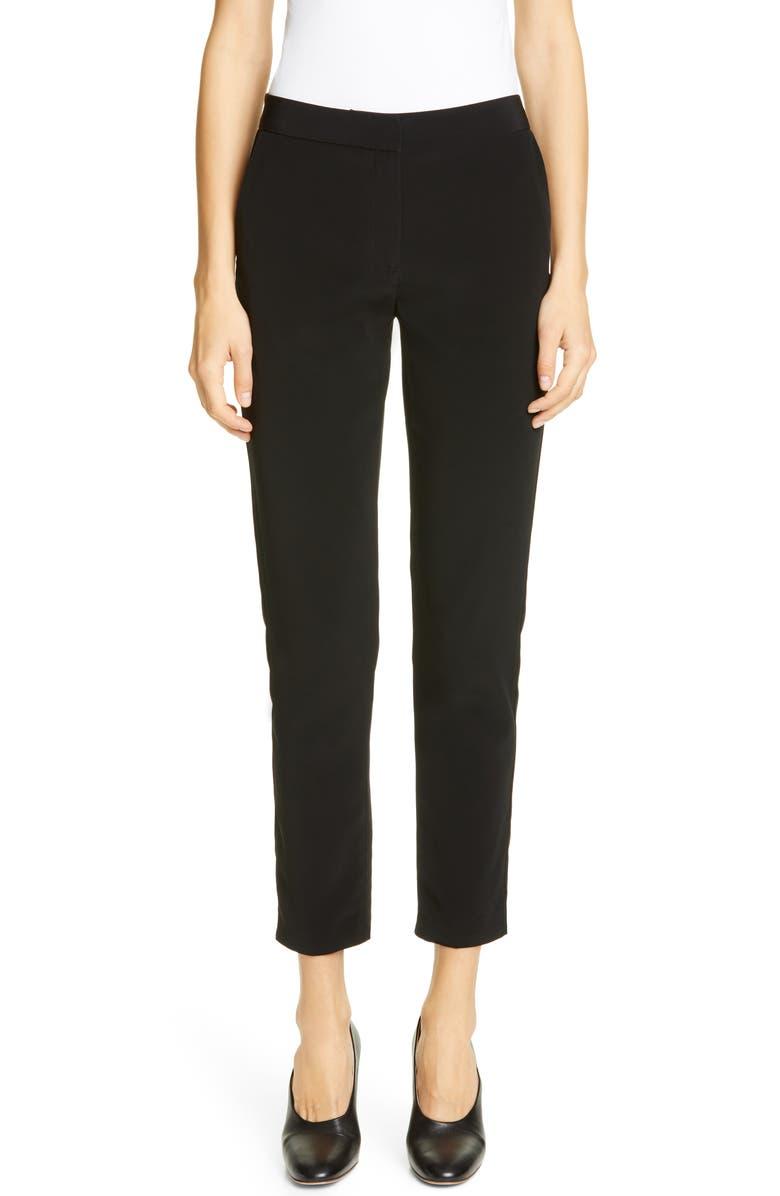 CO Essentials Skinny Pants, Main, color, BLACK