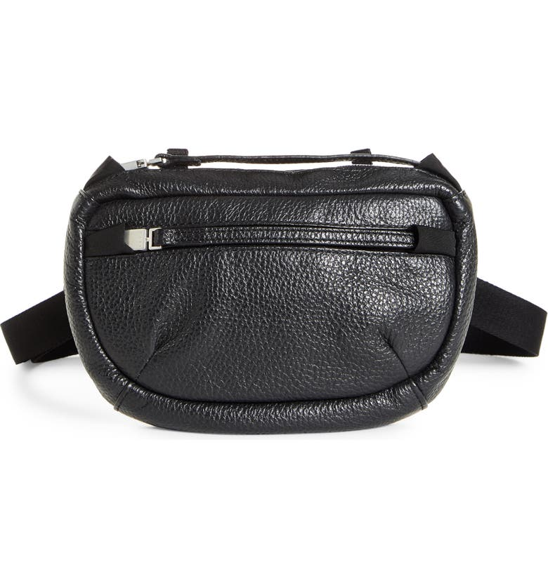 1017 ALYX 9SM Waist Pouch, Main, color, BLACK