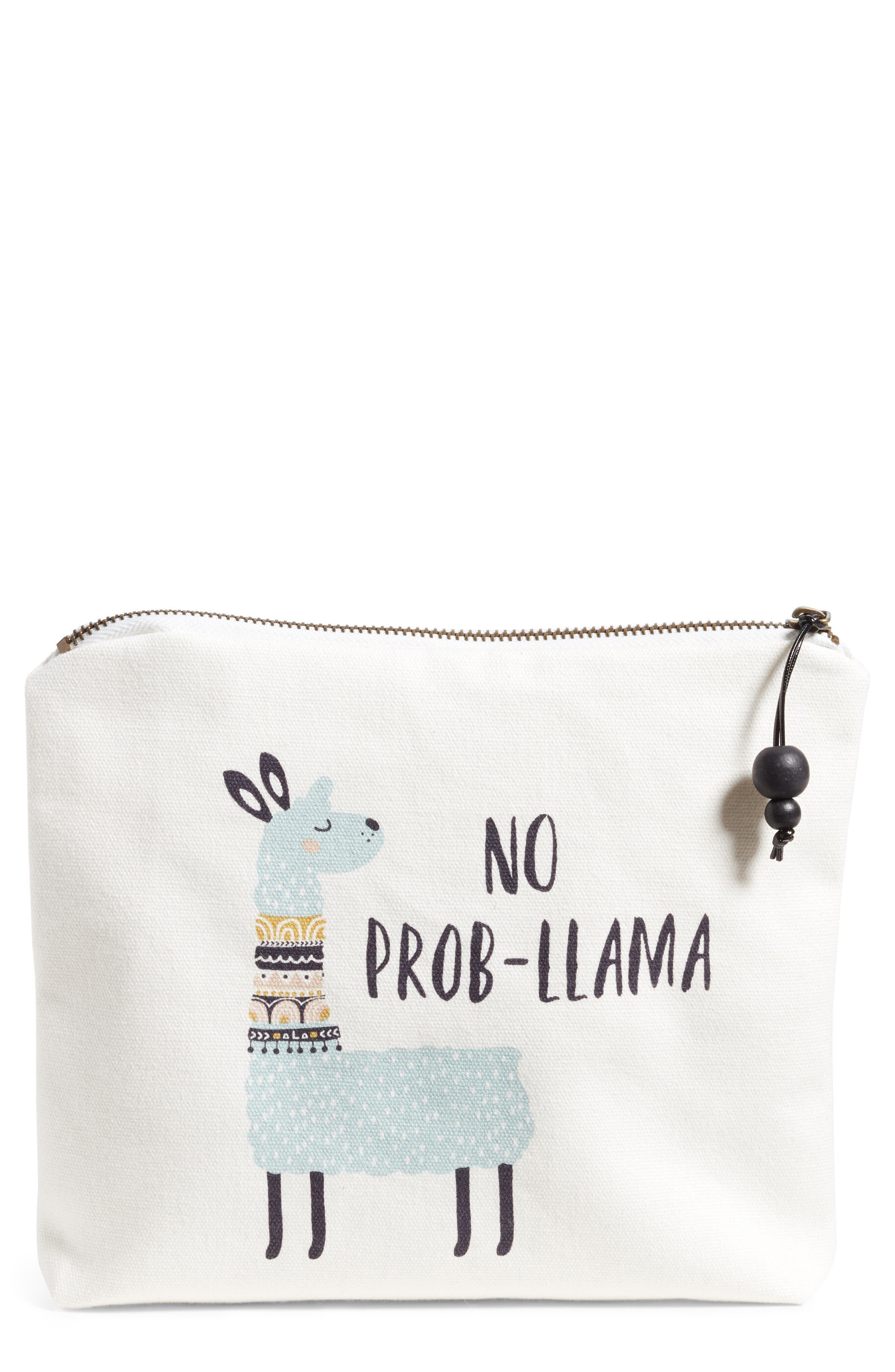 Probllama Home Accessory Bag, Main, color, 900