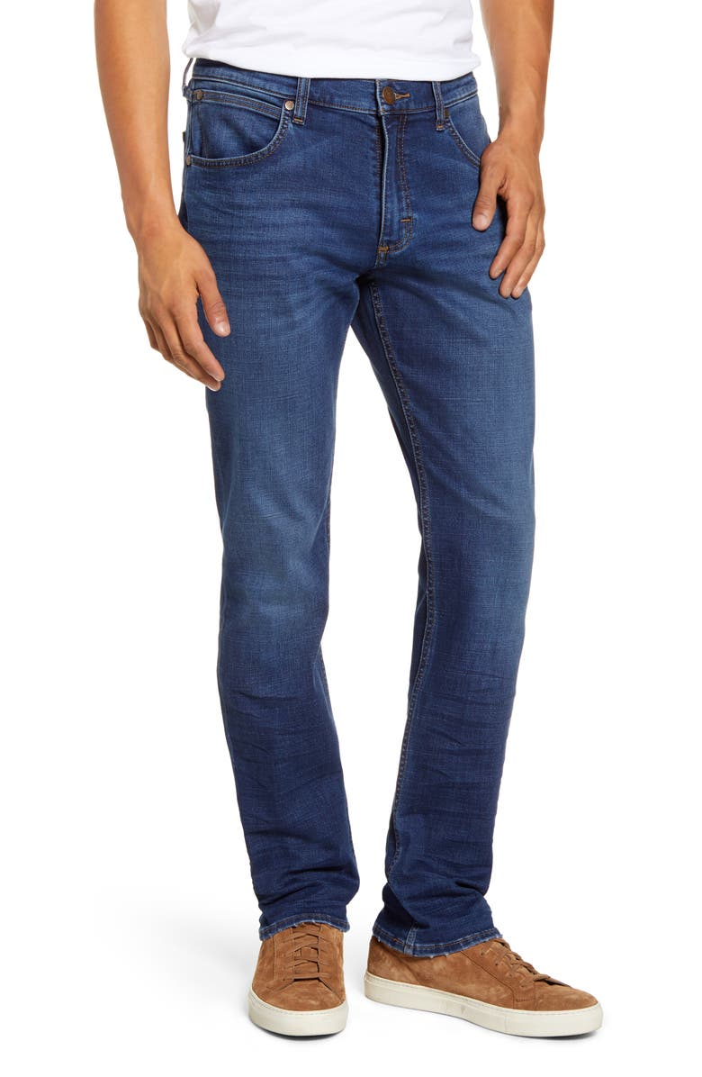 WRANGLER Greensboro Straight Leg Jeans, Main, color, HAWK SPRINGS