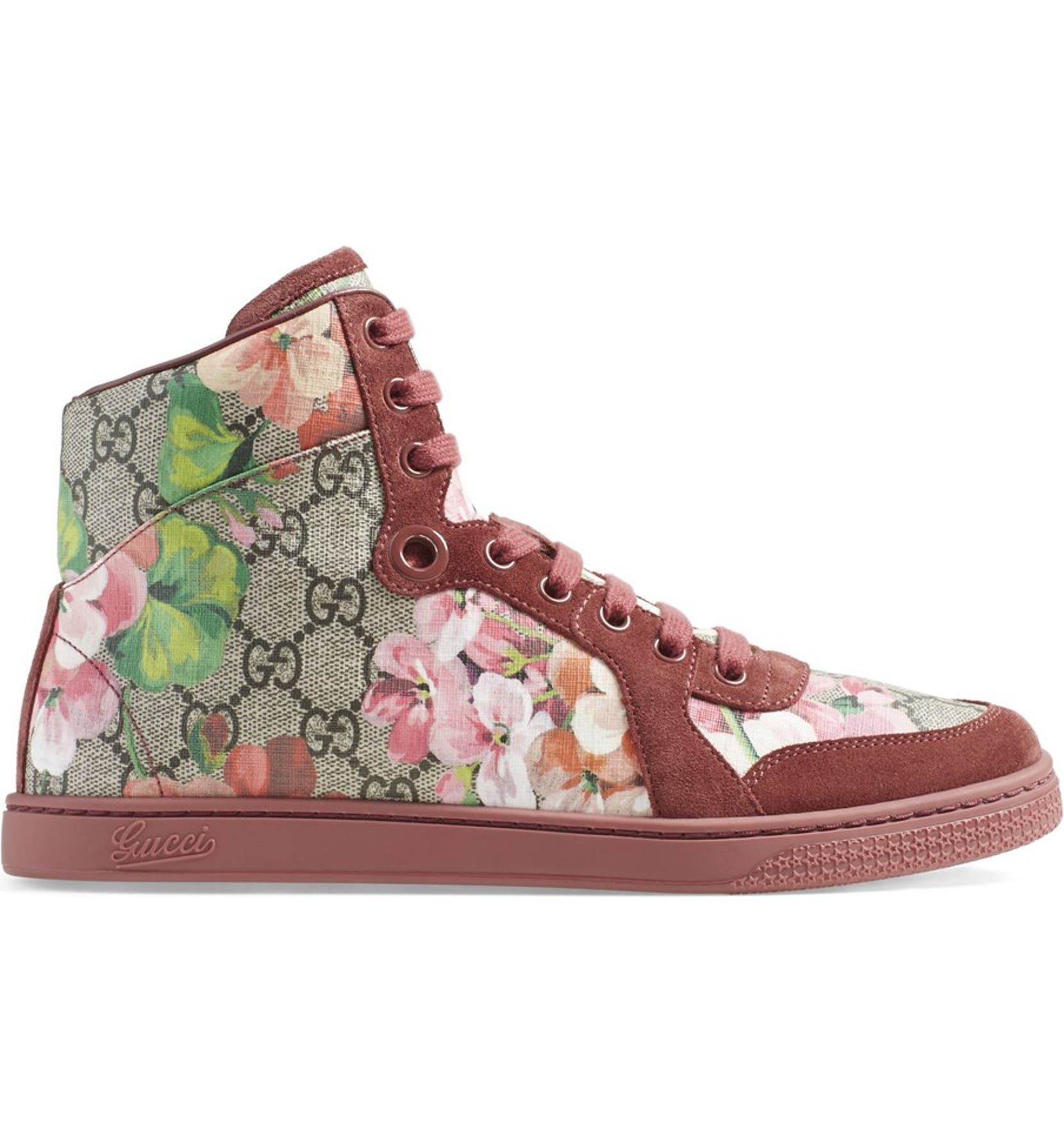 8eab95af8 Gucci 'Coda - Bloom' High Top Sneaker | Nordstrom