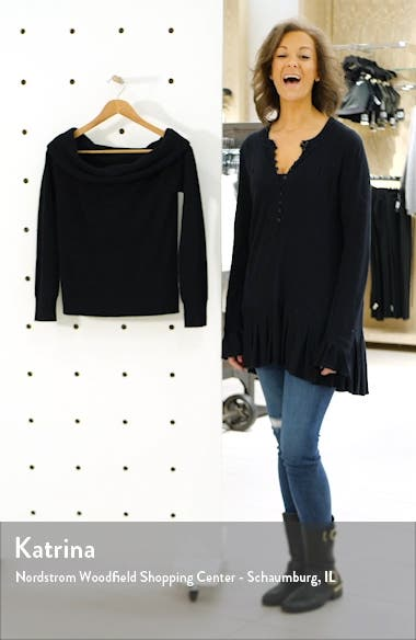 Off the Shoulder Sweater, sales video thumbnail