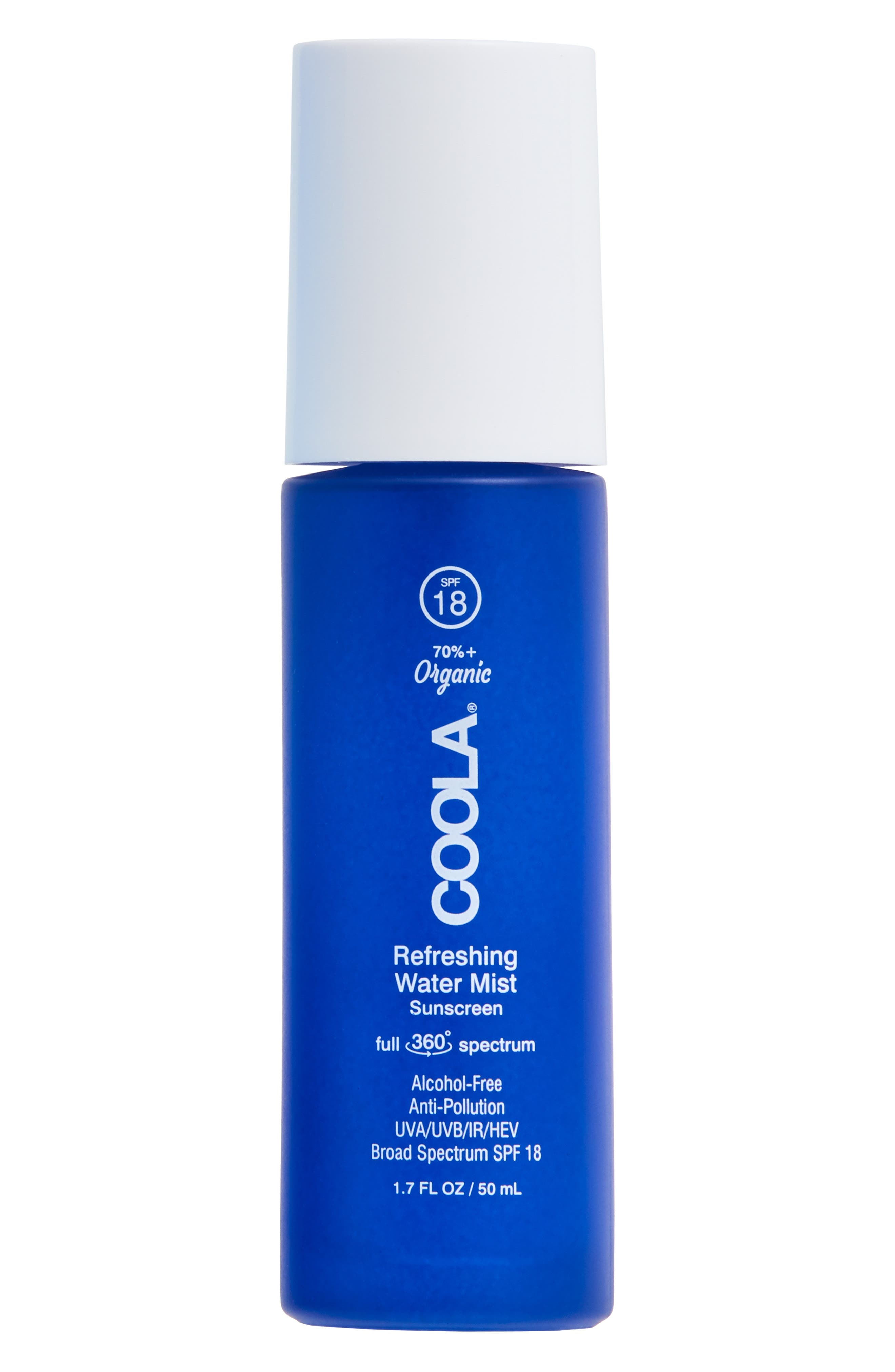 Coola Suncare Refreshing Water Mist Spf 18 Sunscreen