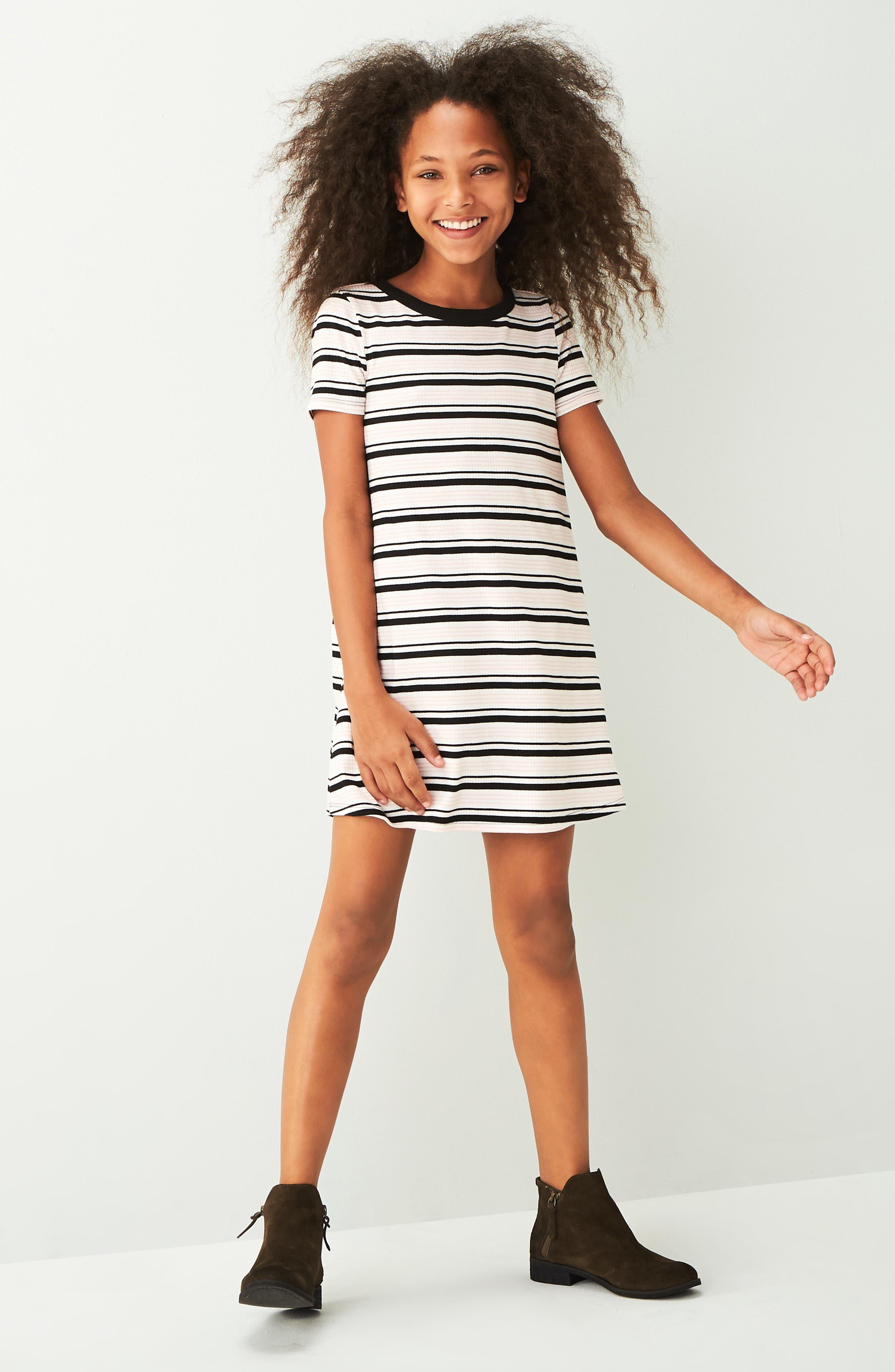 Image of Love, Fire Stripe Ringer Dress