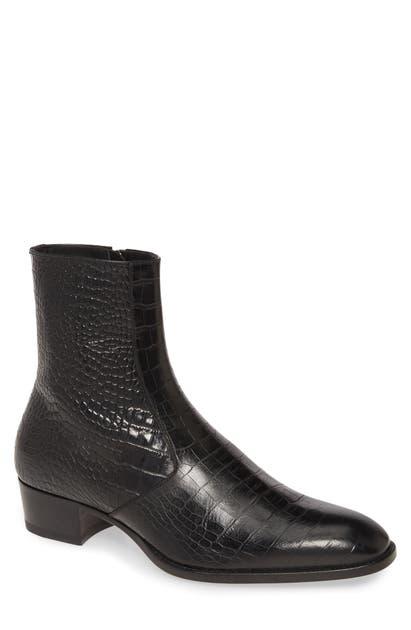 Saint Laurent Boots WYATT ZIP BOOT