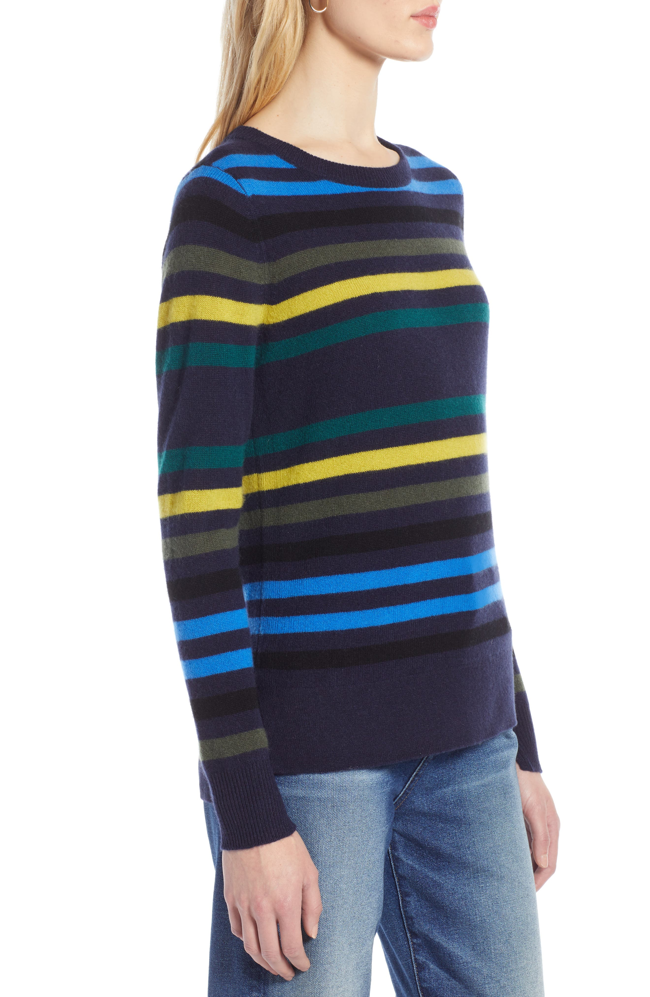 ,                             Crewneck Cashmere Sweater,                             Alternate thumbnail 104, color,                             412