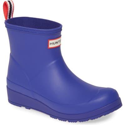 Hunter Original Play Waterproof Rain Bootie, Purple