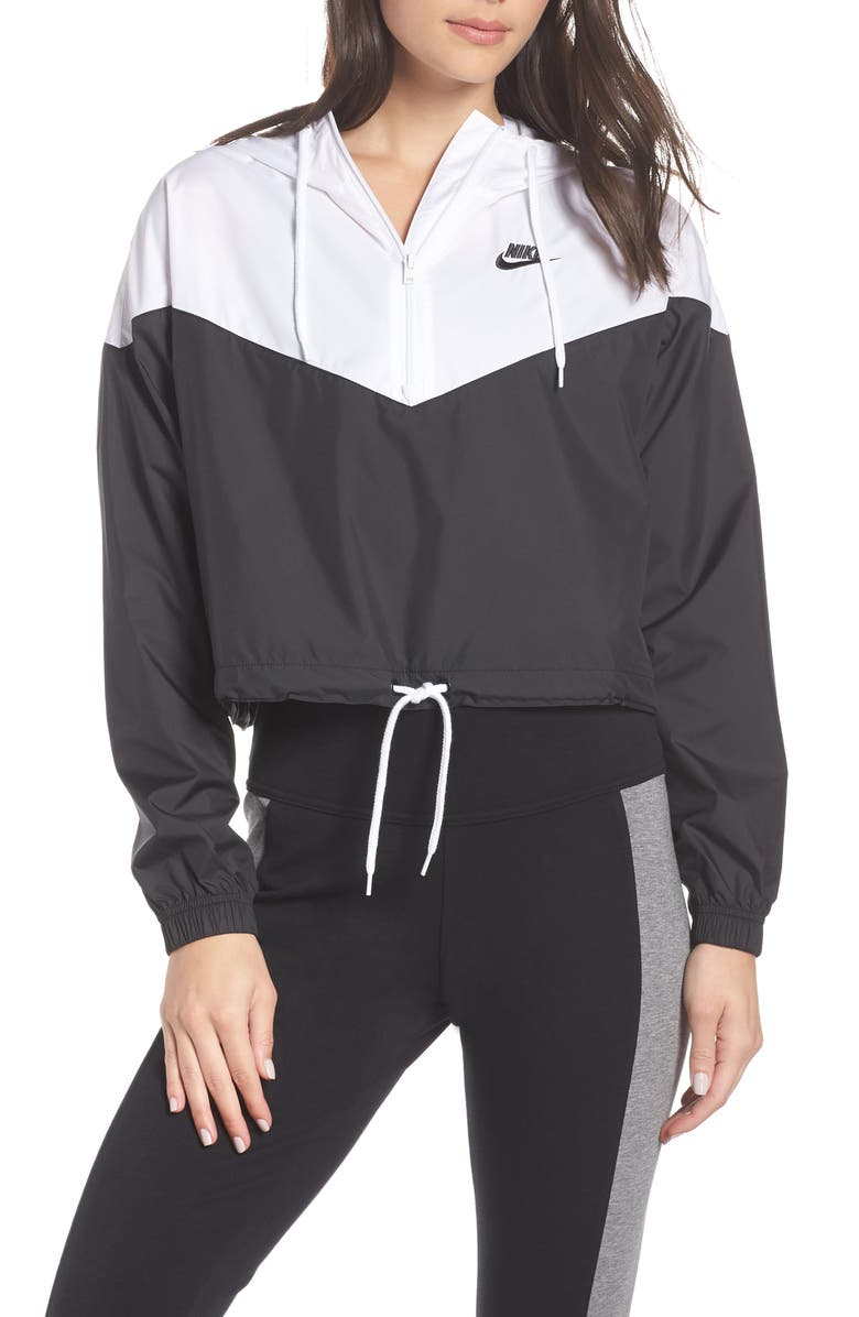NIKE NSW Crop Anorak, Main, color, 010