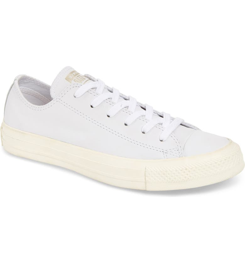 CONVERSE Chuck Taylor<sup>®</sup> All Star<sup>®</sup> Luxe Leather Low Top Sneaker, Main, color, LUXE LEATHER