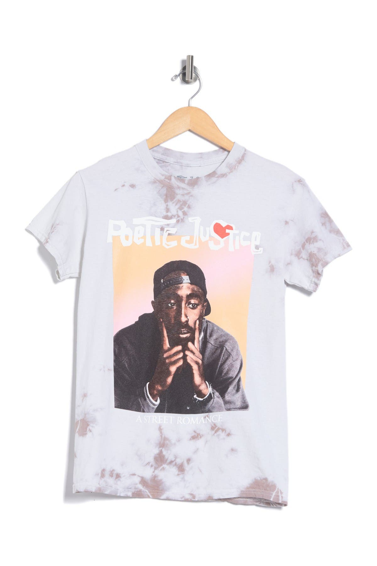 Image of MERCH TRAFFIC Poetic Justic Tupac Graphic T-Shirt