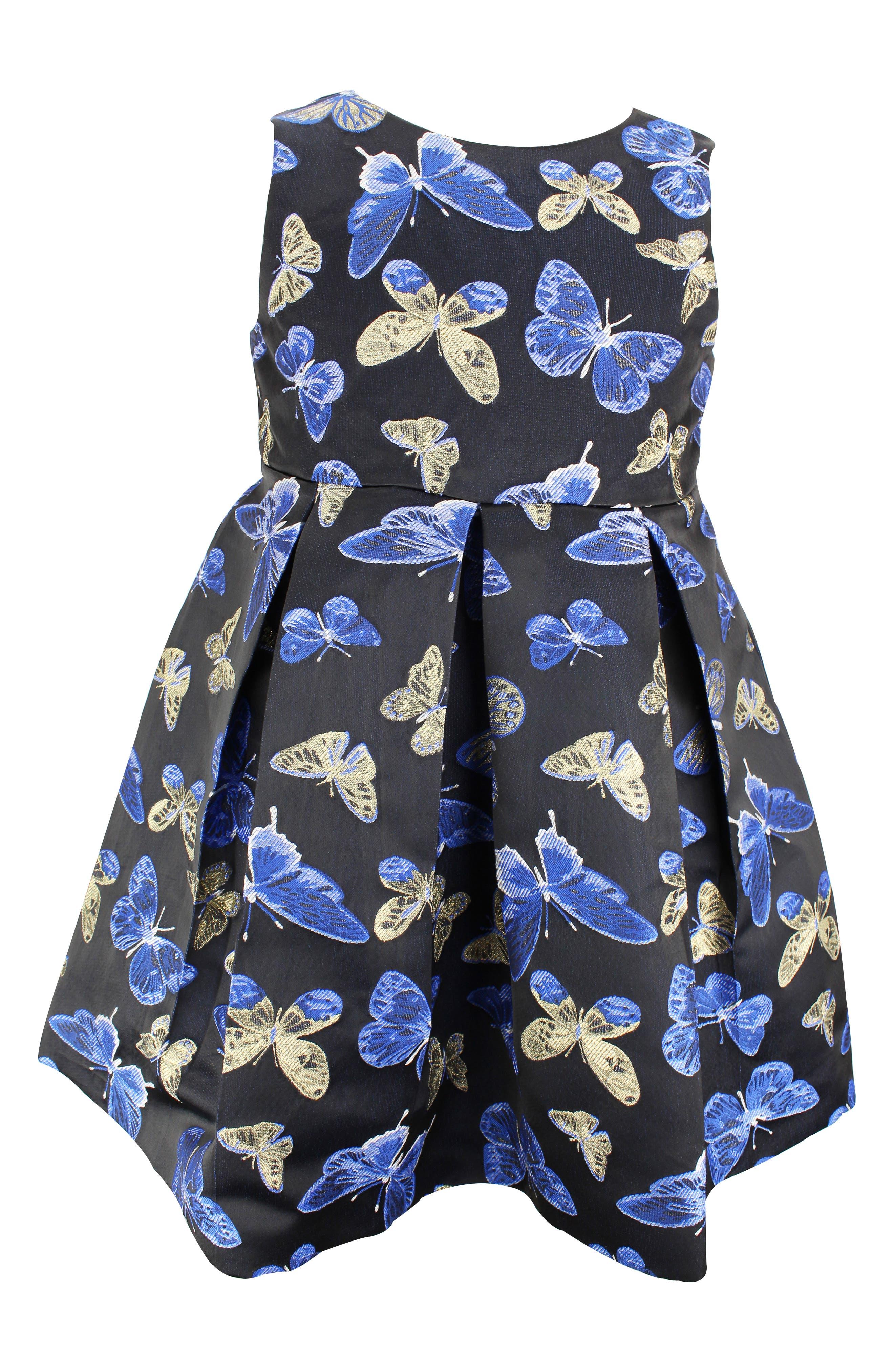 Image of Popatu Butterfly Pleated Skirt Dress