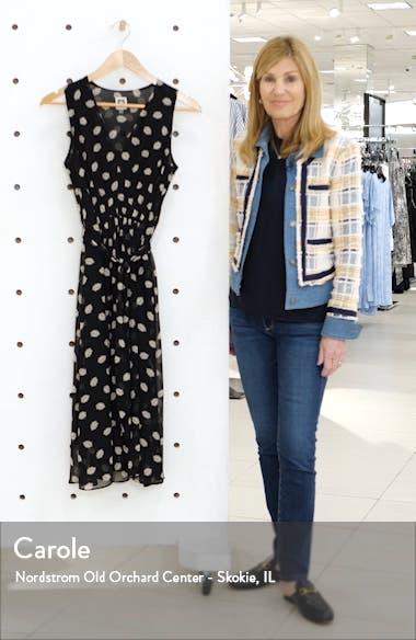 Poet's Leaf Georgette Midi Dress, sales video thumbnail