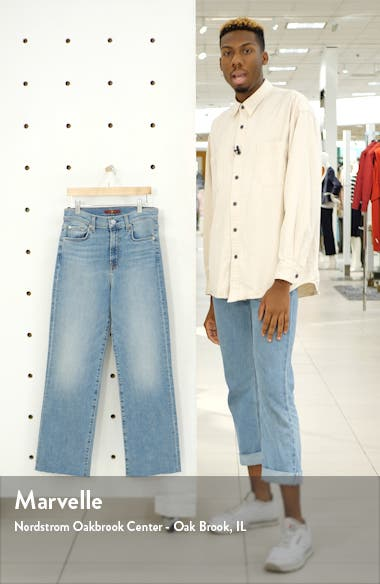 Alexa High Waist Ankle Wide Leg Jeans, sales video thumbnail