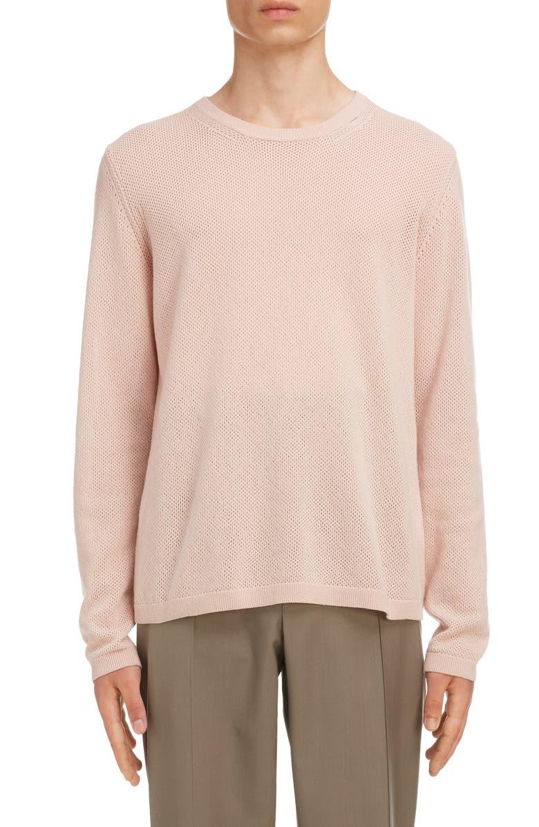 MAISON MARGIELA Crewneck Cashmere & Wool Sweater, Main, color, 650