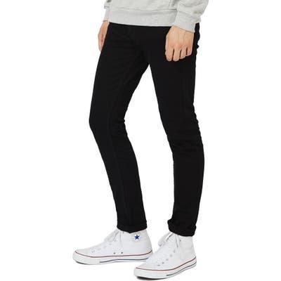 Topman Skinny Stretch Jeans, Black