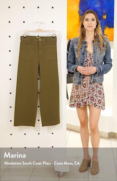 Fallon Wide Leg Crop Pants, sales video thumbnail
