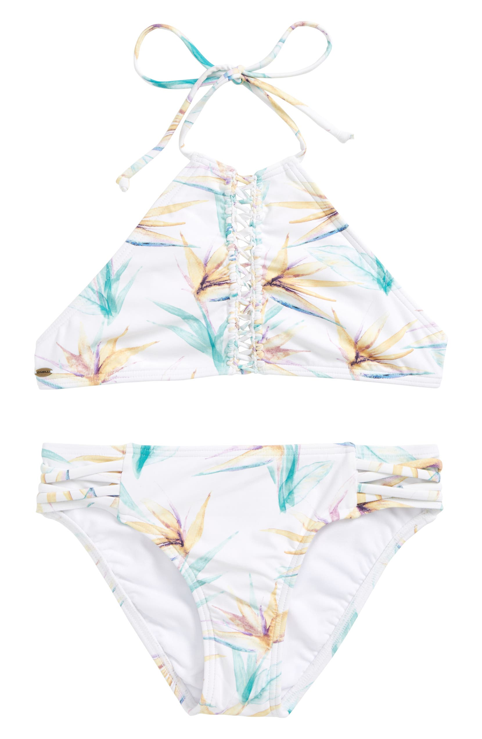 df6b967a9 O Neill Paradise High Neck Two-Piece Swimsuit (Big Girls)