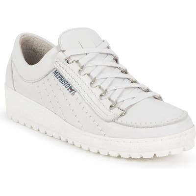 Mephisto Rainbow Sneaker- White