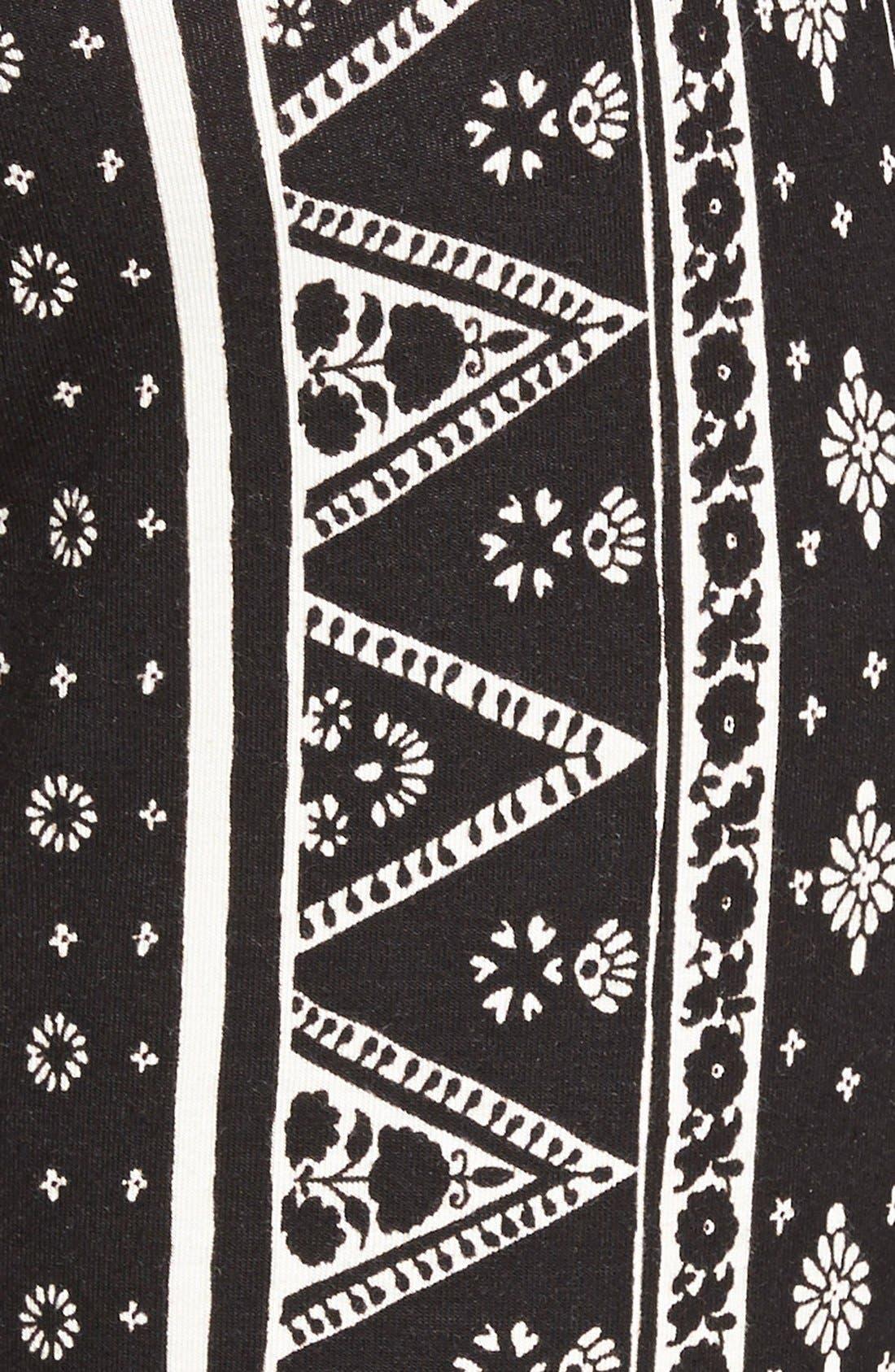 ,                             Mixed Print Flare Leg Pants,                             Alternate thumbnail 20, color,                             008