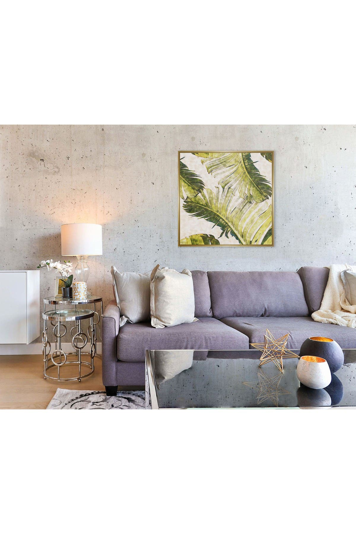 Image of PTM Images Large Botanical #58 Square Canvas
