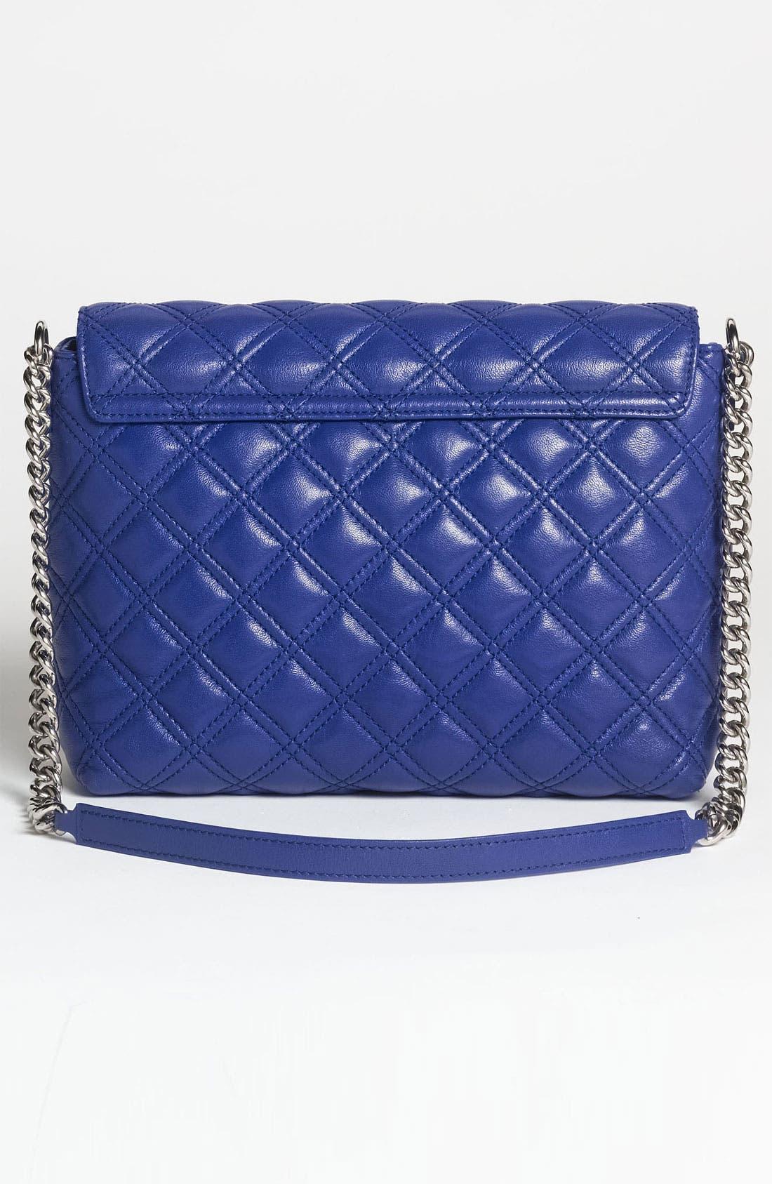 ,                             'Large Quilting Single' Leather Shoulder Bag,                             Alternate thumbnail 32, color,                             430