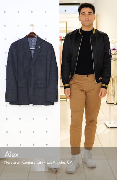 Jay Trim Fit Wool Blazer, sales video thumbnail