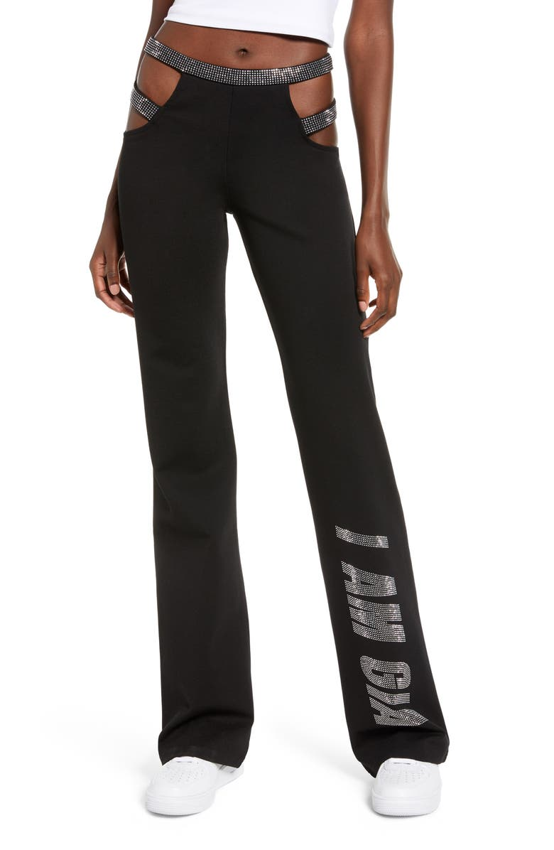 I.AM.GIA Angeletta Pants, Main, color, BLACK