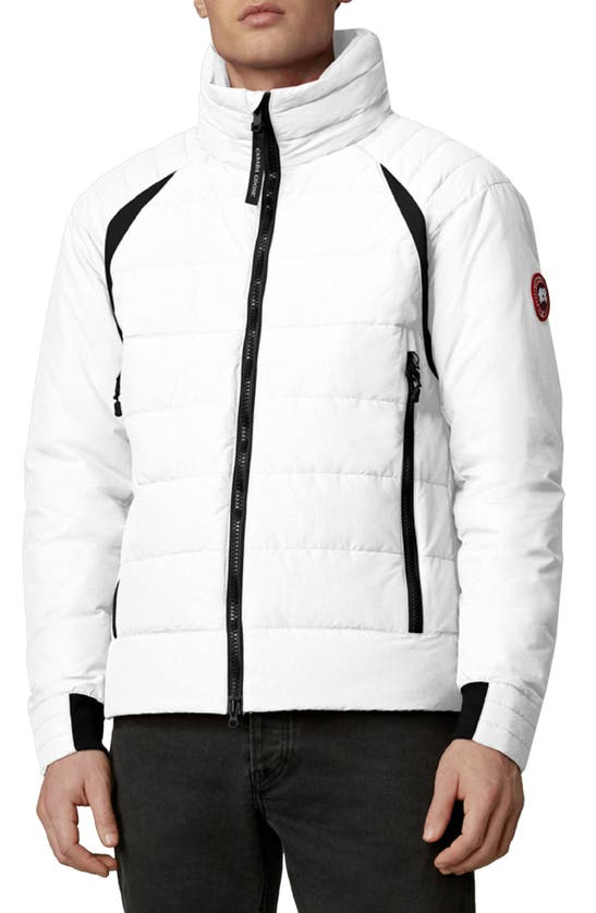 Canada Goose UPDATED HYBRIDGE BASE HOODED 750 FILL POWER DOWN JACKET
