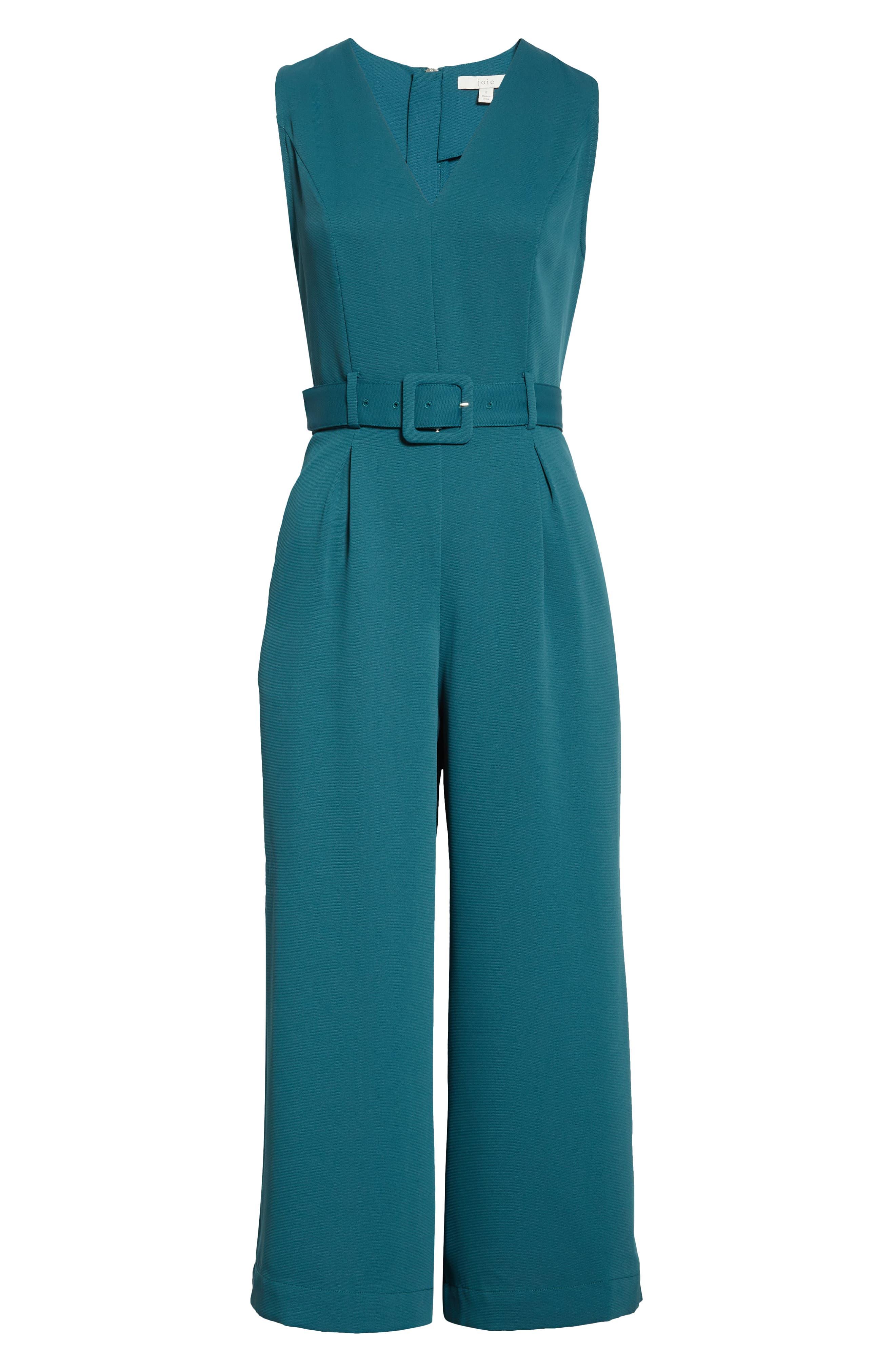 Joie Suits Adessa Belted Jumpsuit