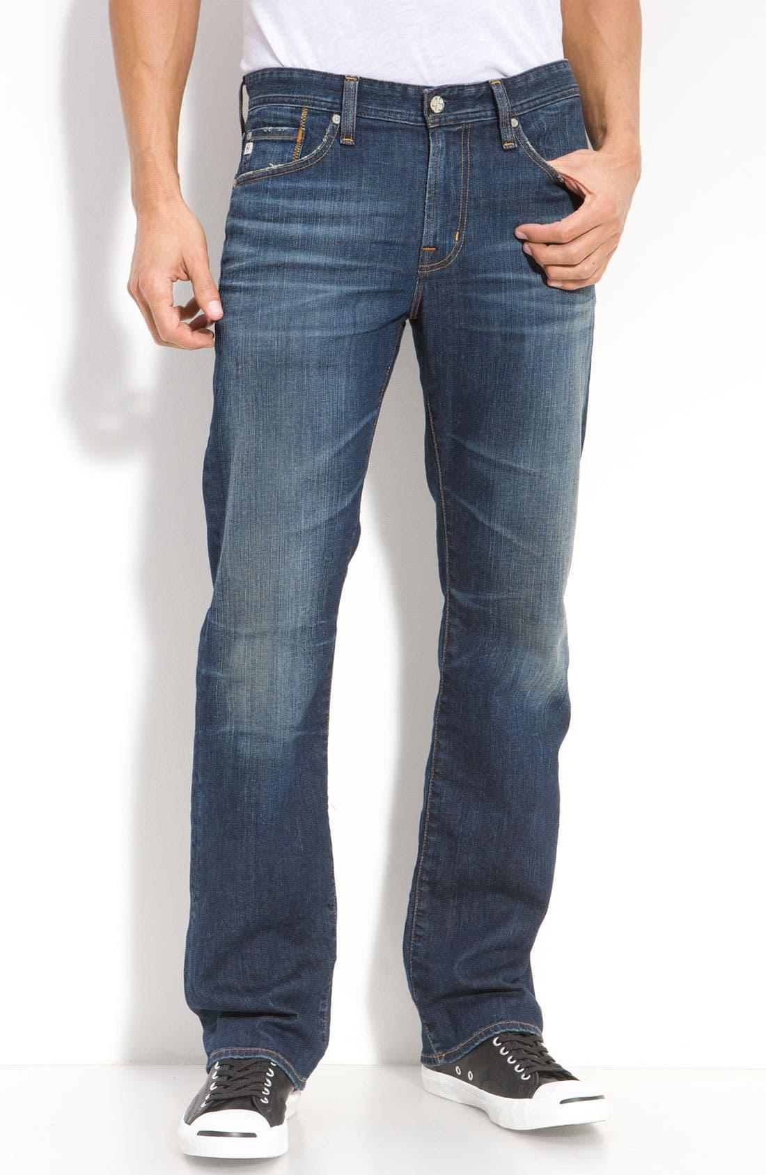 ,                             'Protégé' Straight Leg Jeans,                             Main thumbnail 54, color,                             485