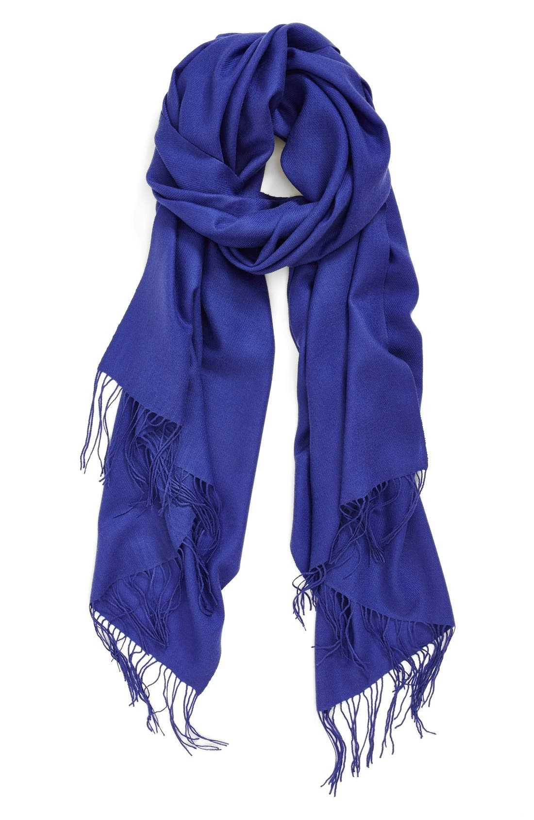 ,                             Tissue Weight Wool & Cashmere Wrap,                             Main thumbnail 80, color,                             407