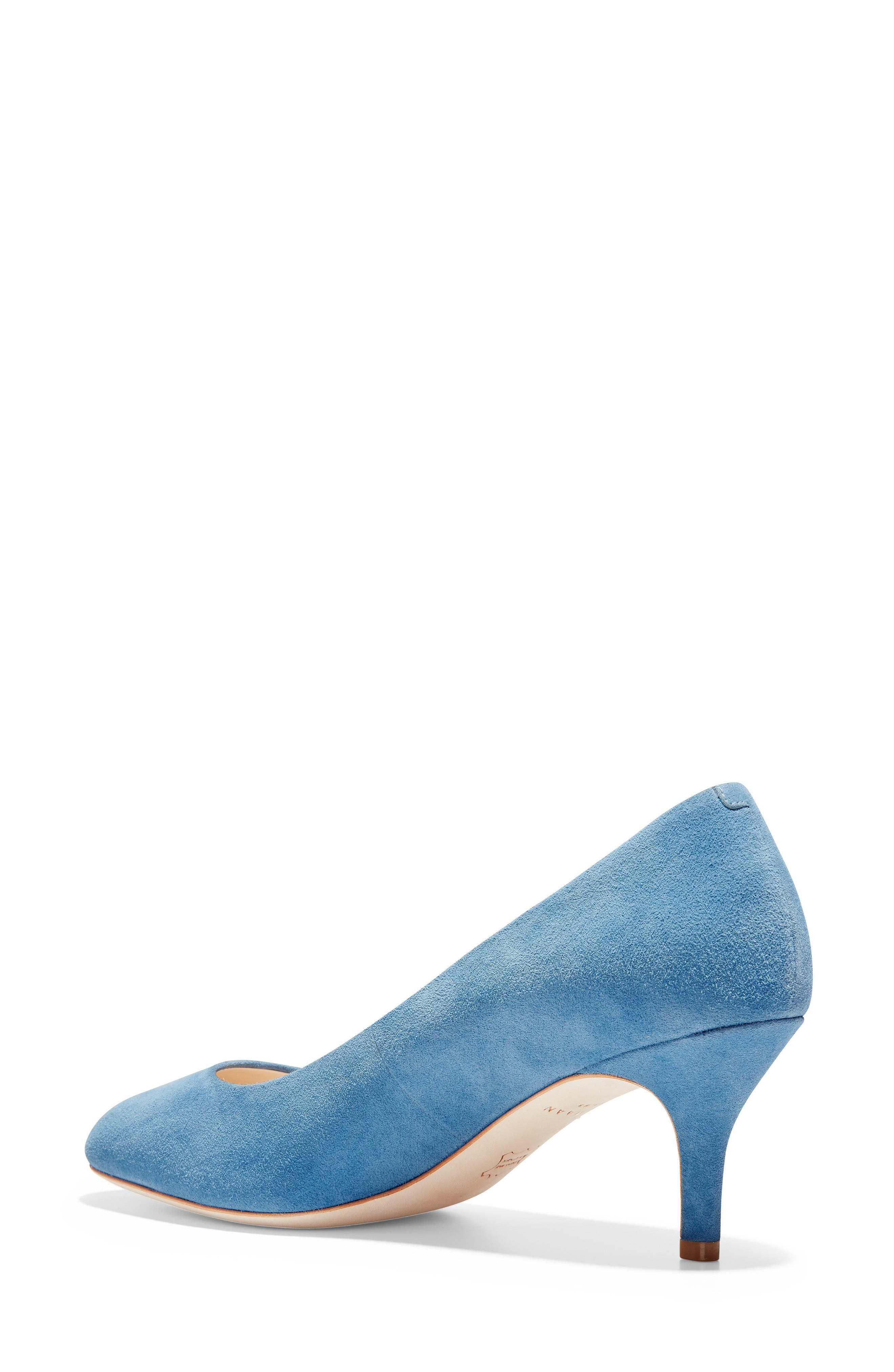 ,                             Ava Pump,                             Alternate thumbnail 2, color,                             PACIFIC COAST SUEDE