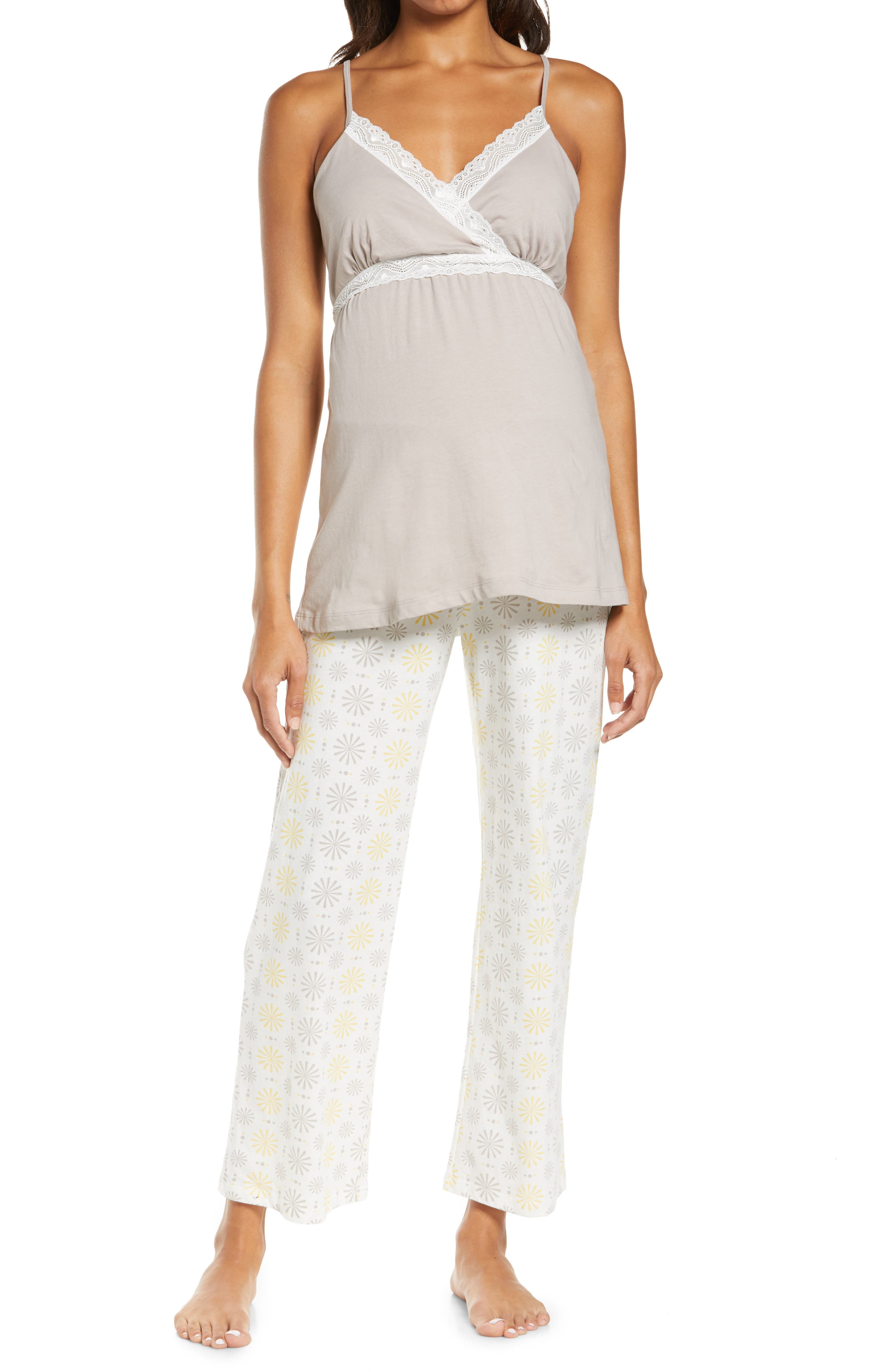 Starlet Maternity/nursing Camisole Pajamas