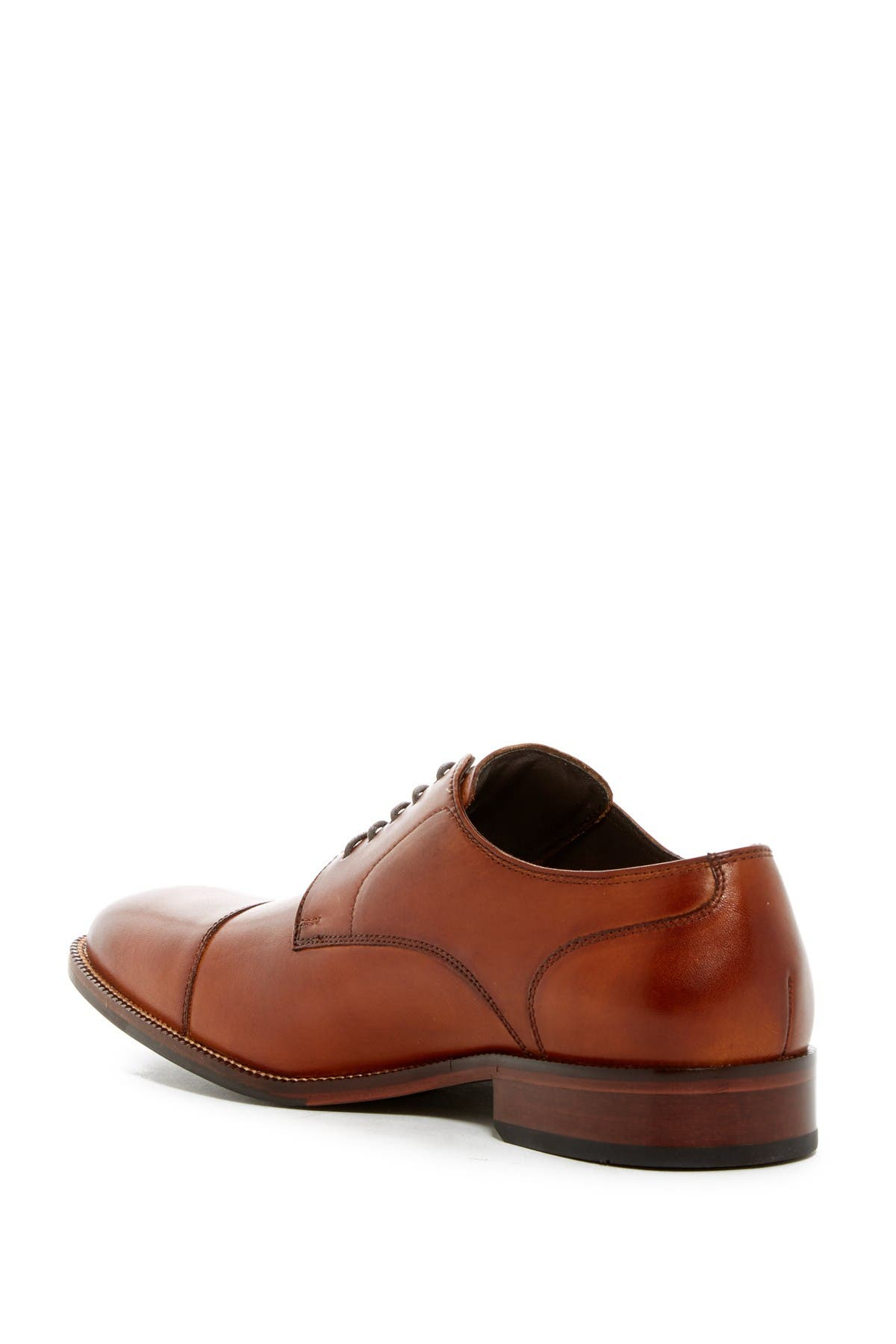 Benton Leather Cap Toe Derby II