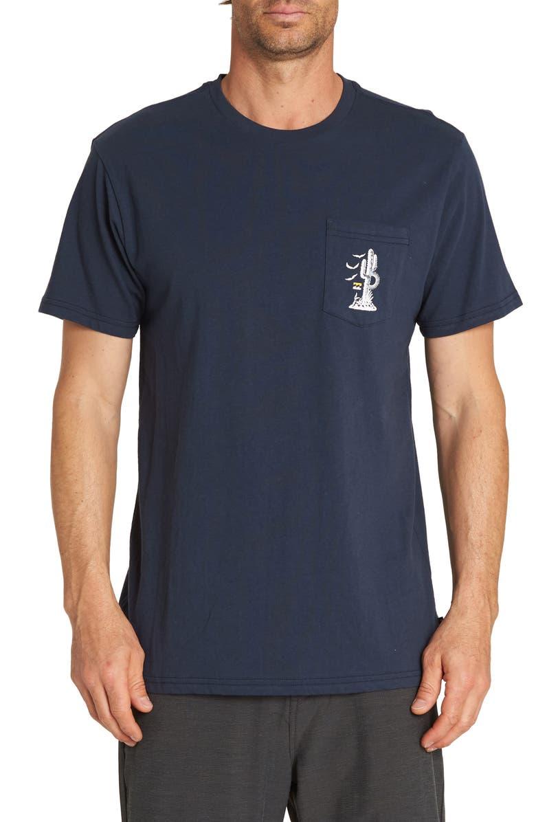 BILLABONG High Desert Graphic Pocket T-Shirt, Main, color, 415