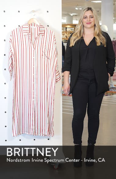 Milly Silk Shirtdress, sales video thumbnail