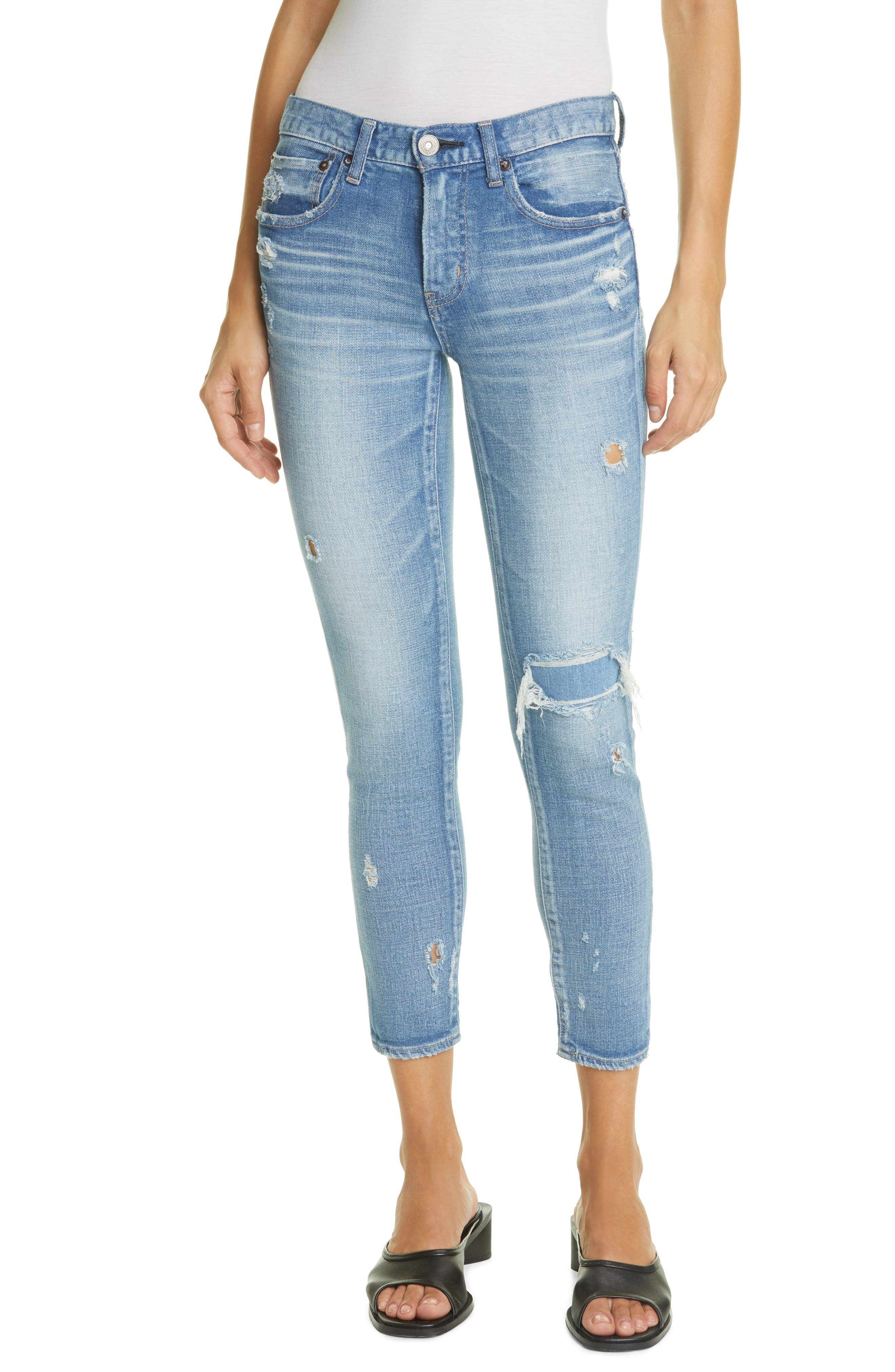 Lenwood Distressed Skinny Jeans