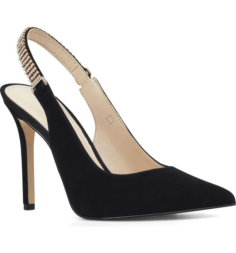 NINE WEST Tenza Slingback Pump, Main, color, 001